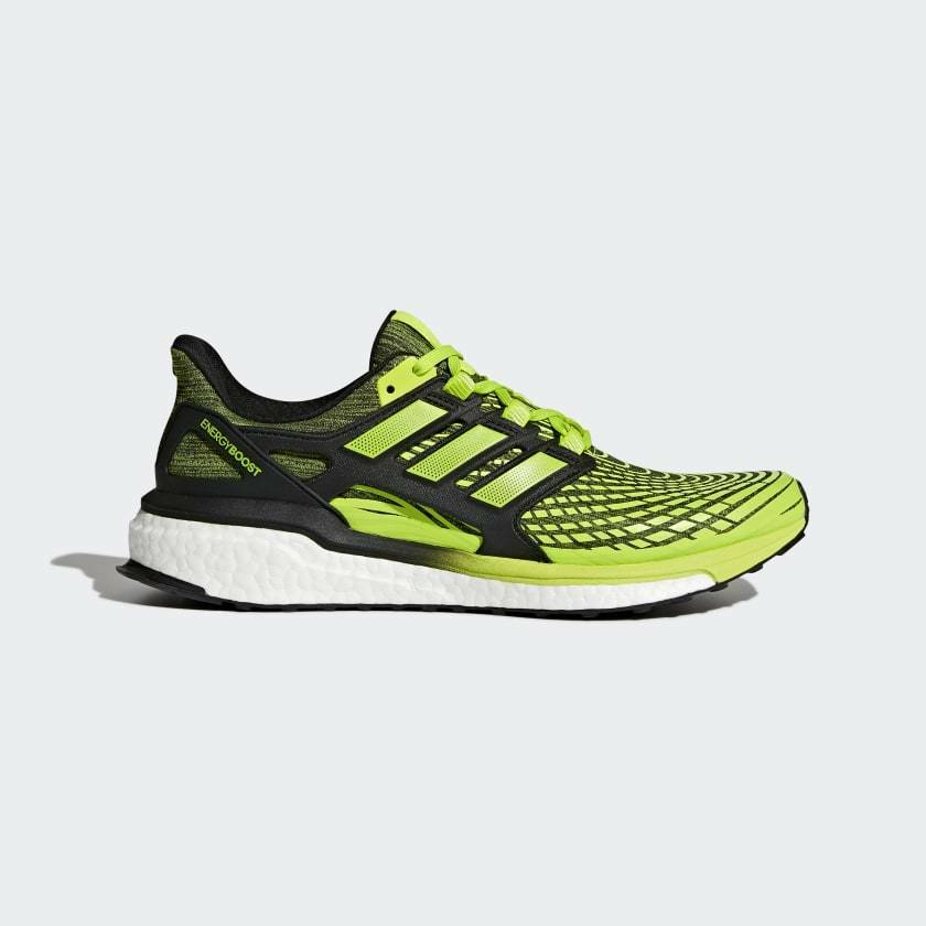 New adidas Energy Boost Running Shoes CP9542 Solar Slime Black