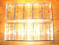 10 - Poker Chip Casino Chip Trays - Racks - - Holds 100 Chips Each