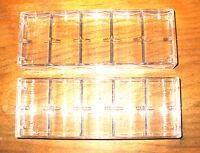 5 - Poker Chip Casino Chip Trays - Racks - - Holds 100 Chips Each