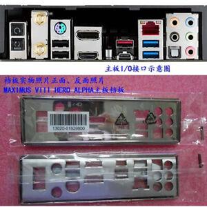 1pcs-IO-I-O-Shield-FOR-ASUS-MAXIMUS-VIII-HERO-ALPHA-I-O-Shield-Back-Plate-M8HA