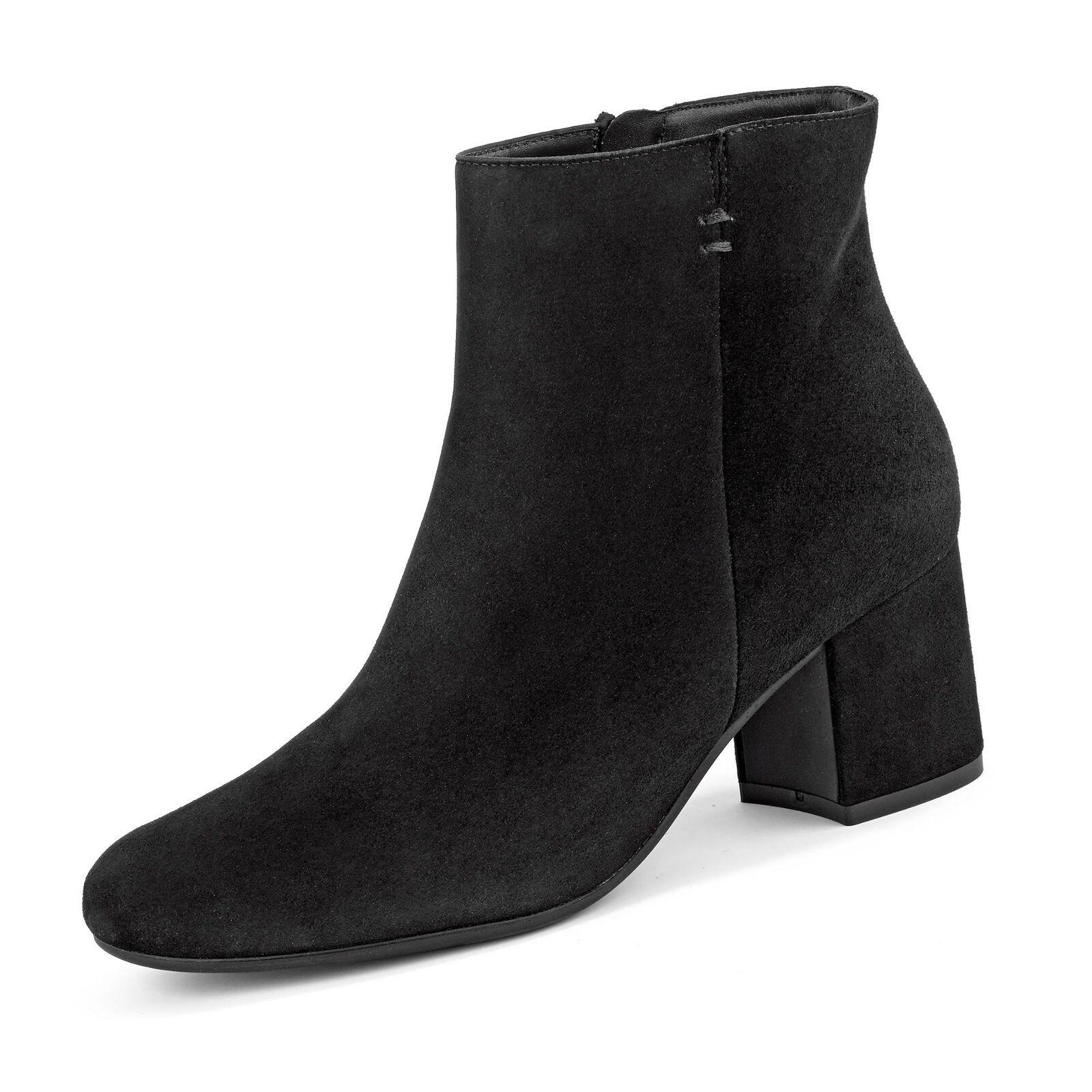 Paul Grün Damänner klassische Stiefelette Stiefel Ankle Stiefel Veloursleder Schuhe