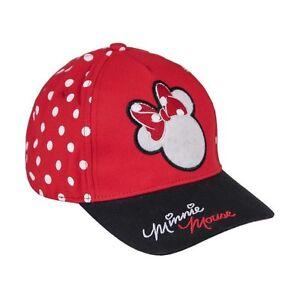 Disney-Minnie-Mouse-Base-Cap-Premium-Schirmmuetze-Sommer-Muetze-Sonnen-Hut-Kinder