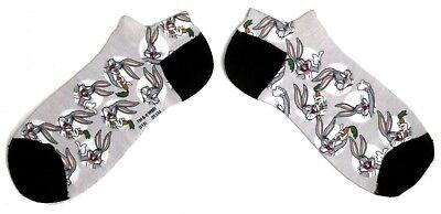 Mujer Bugs Bunny Looney Tunes Camisas Zapatos Calcetines Ru 4-8 Eu 37-42