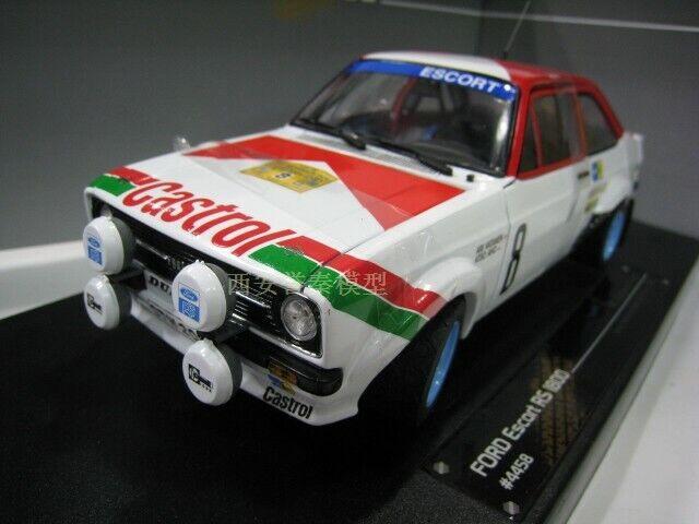 SunSatr 1 18 ESCORT RS 1800 Rally Car Die Cast Model