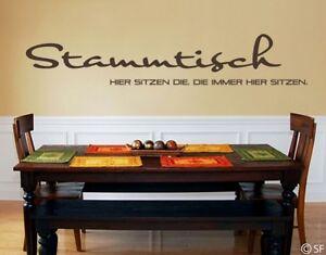 stammtisch sprüche Wandtattoo Stammtisch Sprüche für Küche Kneipe Bar Restaurant  stammtisch sprüche