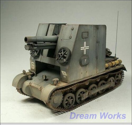PE Metal gun Award winner built 1//35 Dragon 15cm s.IG.33