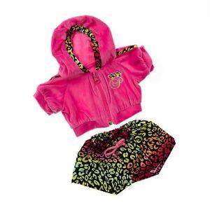 ... -Princess-Hoodie-amp-shorts-teddy-bear-clothes-fit-bears-build-a-bear