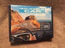 Dash Screen Car Head Up Display Obd Ii Auto Gauge 55 Open Box
