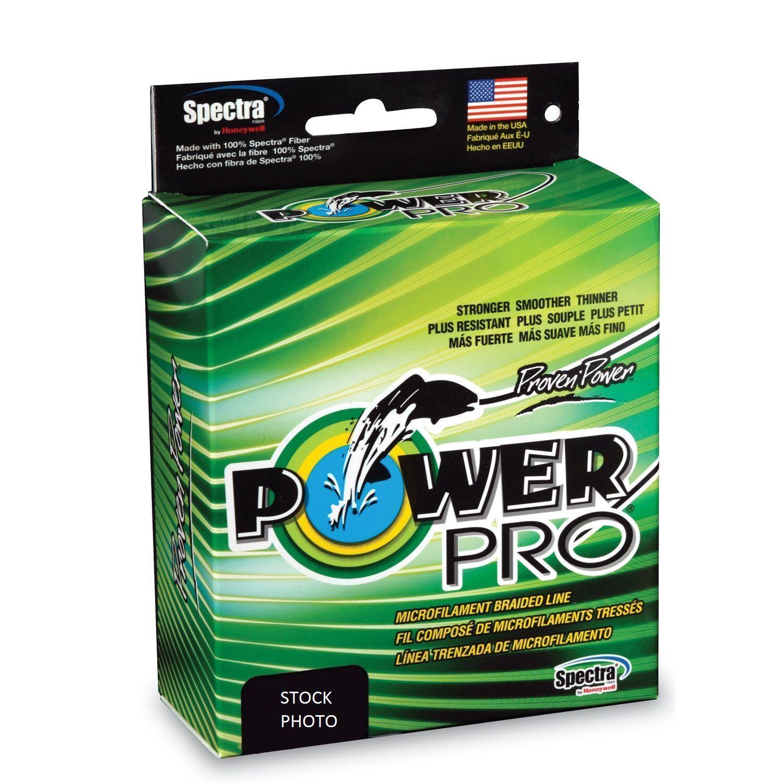 Power Pro Spectra Braid Fishing Line 100lb 500yd 45kg 455m HiVis Gelb 100-500y