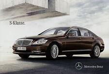 Prospekt Mercedes S-Klasse 17.2.12 Broschüre Autoprospekt 2012 S 65 AMG 600 350