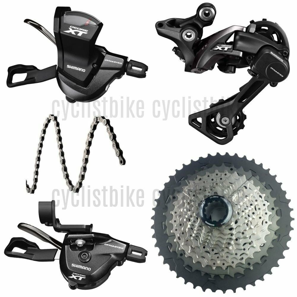 Shimano Deore XT M8000 1x11Speed  Combo 11 46T Groupset New  up to 65% off