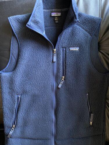 patagonia mens retro pile vest