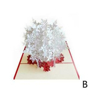 3D-Stereoscopic-Holiday-Greeting-Card-Merry-Christmas-Card-Handmad-Greeting-B6S0