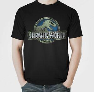 Jurassic-World-Dinosaur-Movie-Men-Printed-T-shirt