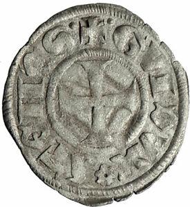 CRUSADERS-of-ATHENS-Greece-DUKE-GUY-II-de-La-Roche-BI-Silver-Antique-Coin-i74590
