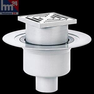 dallmer bodenablauf 61 ht ke 150 x 150 mm dn 100 mit ablaufstutzen 611260. Black Bedroom Furniture Sets. Home Design Ideas
