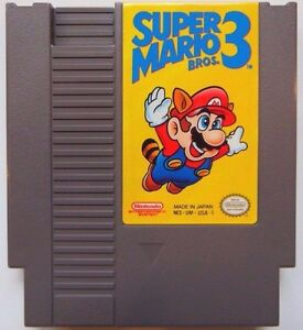 Super Mario Bros. 3 Nintendo Entertainment System 1990 NES ...
