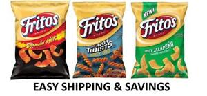 Fritos-Corn-Chips-Multiple-Variety-9-25-Oz-Spicy-Honey-PACK-OF-2-BAGS-PER-ORDER