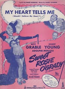 My-Heart-Tells-Me-From-The-Movie-Sweet-Rosie-O-039-Grady-Us-Notenblatt