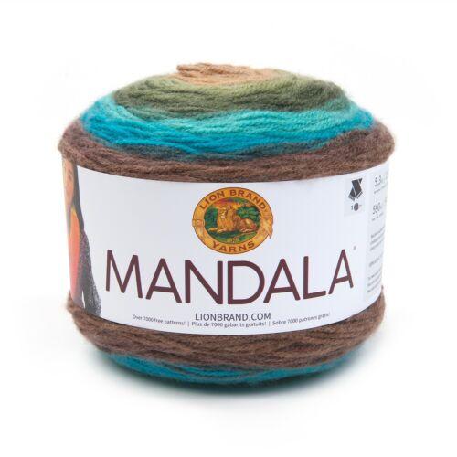 Lion Brand Yarns Mandala Acrylic Dragon Fashion Yarn
