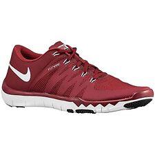 nike mens free trainer 5.0 tb training shoe red