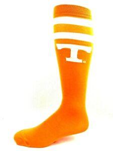 Tennessee-Volunteers-NCAA-Orange-Thin-Long-Socks-White-2-Stripe