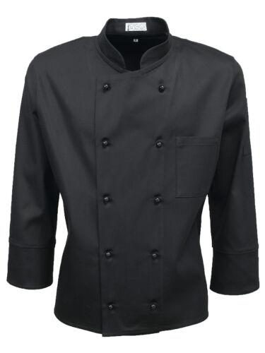 Qualità Top Chef Style Cuoco Coreana Korean Uomo Giacca Elau Alta For Jacket Yxtzwqvq