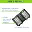 Wasabi-Power-Dual-Battery-Charger-for-Nikon-MH-26-MH-26aAK-EN-EL18-EN-EL18a miniature 4