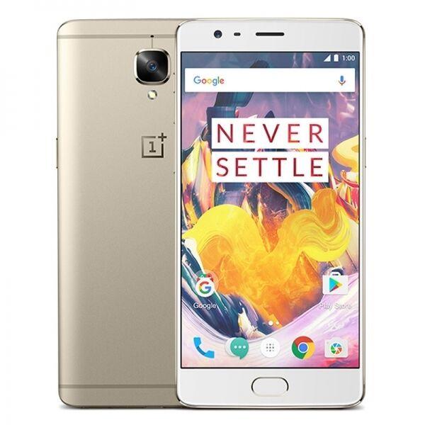 OnePlus 3T |Soft Gold|64GB ROM|6GB RAM|4G|QUAD-CORE|16MP|FINGERPRINT|5.5 INCH