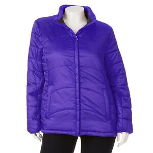 New Plus Size Zeroxposur Women S Puffer Jacket Coat