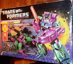 Transformers Vintage G1 Scorponok avec boîte - Les joints sont serrés, bien emballés