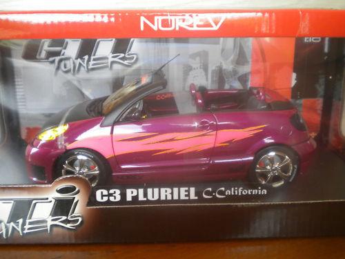 C3 PLURIEL C.CALIFORNIA TUNING  Norev boite 1 18 °