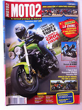 MOTO 2  n°210; Kawasaki Z1000 vs Yamaha FZ1/ Suzuki B-King/ Triumph 675Street Tr