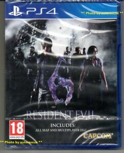 Resident-Evil-6-HD-inc-all-MAP-amp-MULTIPLAYER-DLC-039-New-amp-Sealed-039-PS4-Four