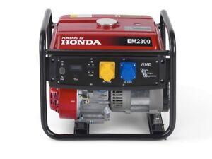 Gruppo elettrogeno generatore di corrente honda em 2300 2 for Generatore di corrente honda usato