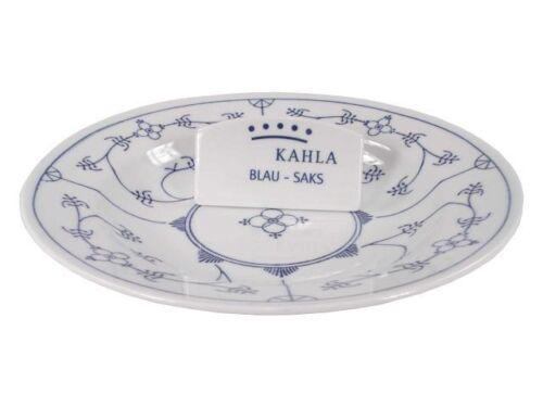 Suppenteller 22 cm Kahla blau saks Porzellan Neu