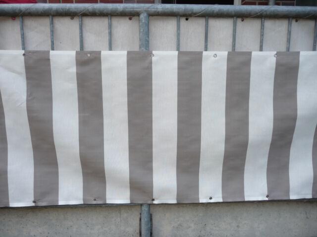 Balkonsichtschutz Windschutz Balkonbespannung Balkonverkleidung mehrere Auswahl