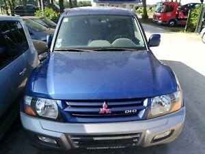 Mitsubishi-Pajero-III-Motorhaube-TA6C-blau