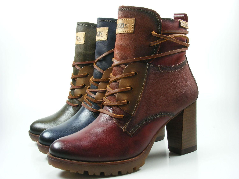 Pikolinos W7M-8909 Connelly Schuhe Damen Ankle Stiefel Stiefeletten