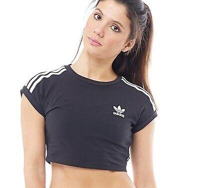 Adidas Originals Women/'s Ladies T-Shirt Tee Top Size UK 8-14 New