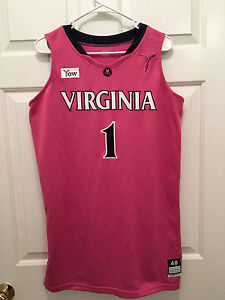 Virginia UVA Cavaliers Women's Basketball Lyndra Littles Game Worn BCA Jersey