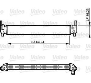 VALEO-RADIATORE-Raffreddamento-motore-per-SKODA-FABIA-FABIA-Combi-Rapid-Roomster-VW