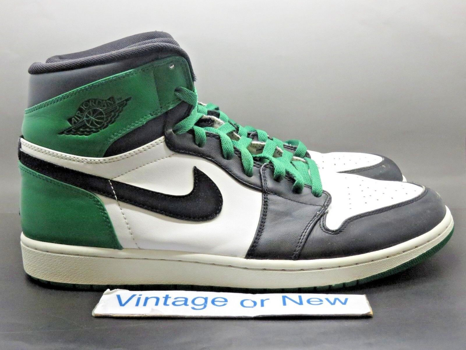 Air Retro Jordan I 1 High Retro Air DMP Celtics 2009 sz 13 fbb2f0