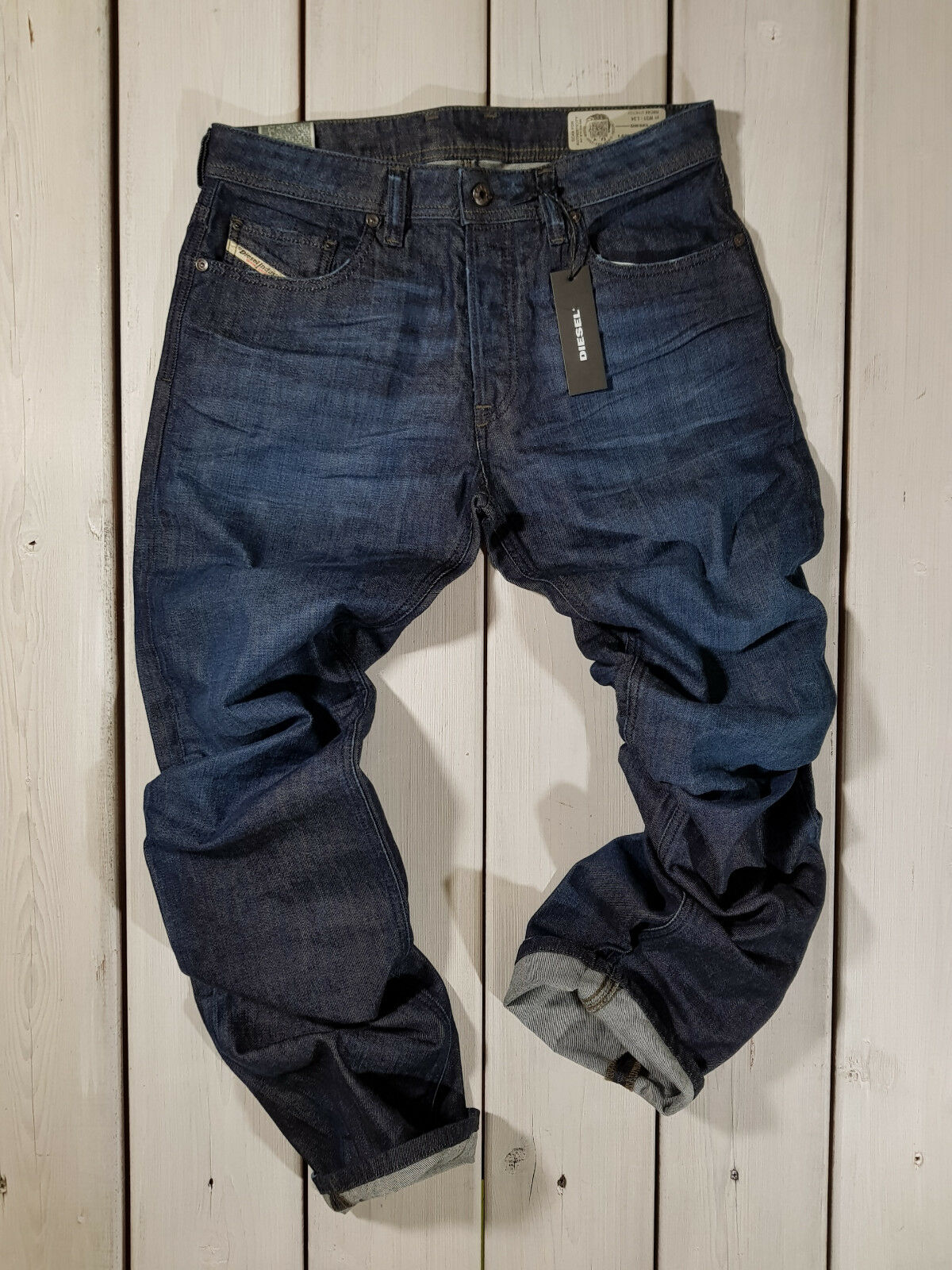 RRP  NEW DIESEL MEN'S JEANS LARKEE-RELAXED R8C44 COMFORT STRAIGHT STRETCH