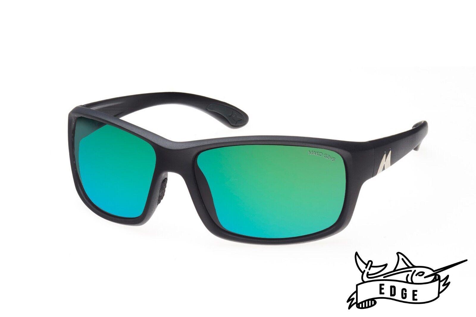 Mako EDGE- pink Glass Green Mirror Sunglasses Polarised MO1 9604 G2H5 + Shirt