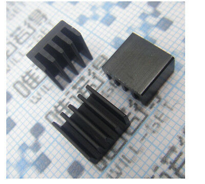 50Pcs Heat sink 8.8x8.8x5mm High quality MINI HeatSink Color Black N