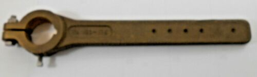 """Bronze Tiller Arm 1-3//4/"""" Rudder Shaft Bore 15-1//2/"""" Long"""