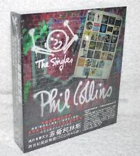 Phil Collins THE SINGLES 2016 Taiwan Ltd 3CD w/BOX