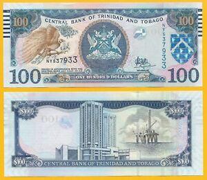 UNC 2006 P-59 Trinidad and Tobago 100 Dollars 2014