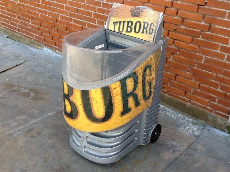 """Køledisk """"Tuborg"""" - flot og speciel"""